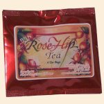 12 Wow Roses - Huckleberry Haven Wild Rosehip 4pk Tea pouches Case of 12 (48 tea bags total)