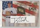 Tyler Wilson #/375 (Baseball Card) 2008 Upper Deck - USA Baseball Junior National Team - Black Ink Autographs [Autographed] #USJR-TW
