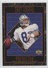 1995 Upper Deck Football (Troy Aikman (Football Card) 1995 Upper Deck - Predictors League Leaders #RP)