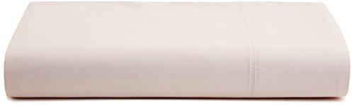 Calvin Klein Flat Sheet (Calvin Klein Home Florence Stitch Flat Sheet, Queen, Slipper)