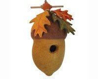 TIBETAN COLLECTION Dzi Birdhouse Pin Oak Acorn, 1 EA