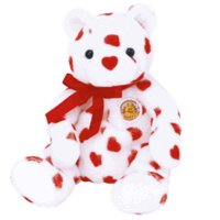 Ty Beanie Babies Heartthrob - Bear (BBOM February 2004) for sale  Delivered anywhere in USA