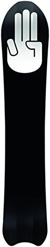 Bataleon Camel Toe Freeride Snowboards, Black, 148 cm