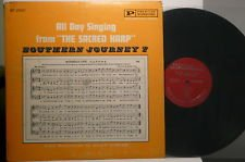 """All Day Singing from the """"Sacred Harp."""" Southern Journey 7 LP"""