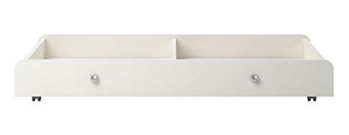 Amazon.com : Cosco Products Willow Lake Under Storage Drawer For Baby Cribs,  White : Baby