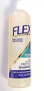 Balsam Protein Shampoo - FLEX Naturals Body Building Protein Shampoo - 16oz bottle