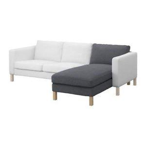 Recamiere Ikea ikea karlstad bezug für recamiere in korndal mittelgrau artnr