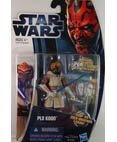 Star Wars: Clone Wars 2012 Animated Series 3.75 inch Plo Koon Action Figure -