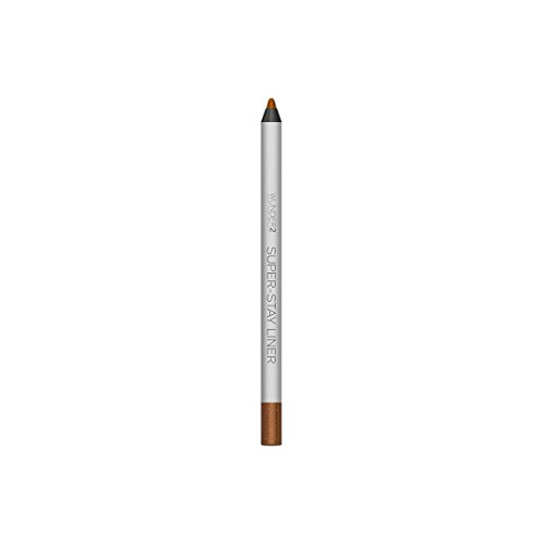 WUNDER2 SUPER-STAY LINER - Long-Lasting & Waterproof Colored Eyeliner - Highly Pigmented and Easy-Glide Pencils, 24-hour wear, 'Essential', 'Metallic' and 'Glitter' - Glitter Bronze