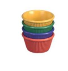 Gessner Products IW-0383A-BERRY 3 oz. Fluted ramekin- Case of 12 - Gessner Fluted Ramekin