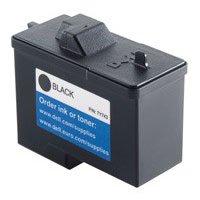 Dell 7Y743, 310-3540, 310-4631 (Series 2) Black High Resolution OEM Genuine Inkjet/Ink Cartridge - Retail (Dell Series 2 Black Ink Cartridge 7y743)