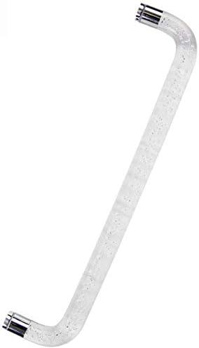 WYJW Tirador de Puerta de Cristal Moderno para baño Tirador de Puerta sin Marco de Acero Inoxidable Tirador de Cristal para Puerta corredera de baño (Tamaño: Simple): Amazon.es: Hogar