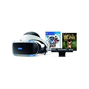 Playstation VR – Astro BOT Rescue Mission + Moss Super Bundle: Playstation VR Headset, Playstation Camera, Demo Disc 2.0, Astro BOT Rescue Mission + Moss Game