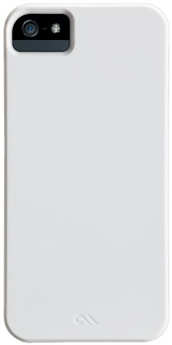 Case-Mate Barely There Cases for iPhone 5/5S - Retail Packaging - Glossy White (There Case 5 Iphone Barely)