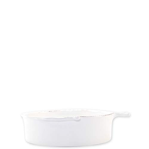 (Vietri Melamine Lastra Fish White Medium Serving Bowl)