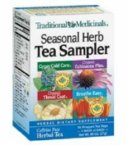 Traditional Medicinal Organic Relaxation Herb Tea Sampler - 16 bags per pack -- 6 packs per case.