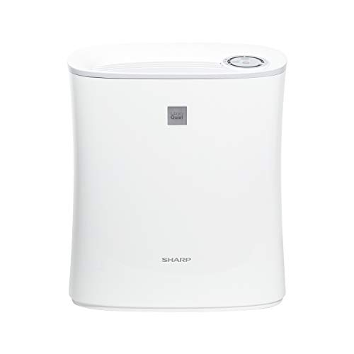 Sharp, White FPF30UH True HEPA Air Purifier for Home Office or Small Bedroom with Express Clean. Filters Last up-to 2…