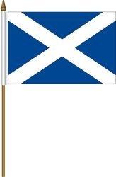 Amazon Com Scotland St Andrews Cross Small 4 X 6 Inch Mini Country