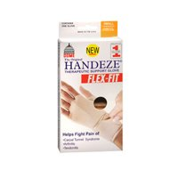 HandEze Flex-Fit Therapeutic Glove Small, Beige - Each, Pack of 2 ()