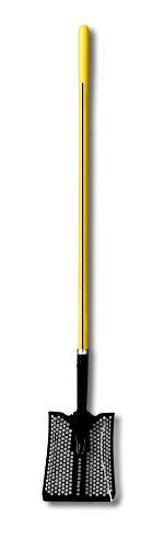 - Nupla 72022 Square Point Mud Shovel with Heavy Duty Hollow Back Blade and Ergo Grip, 48