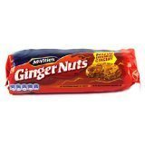 Mcvities Ginger Nut 250g 4 Pack (Mcvities Cookies)