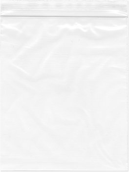 "5"" x 6"", 2 Mil Clear Zip Lock Bags, 5 Packs of 100"