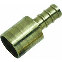 Watts PEX LFP-518 Barb x Female Sweat Coupling 1/2-Inch Low-Lead, Brass (Sweat Repair Coupling)