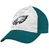 NFL Women's Fan Gear Slouch Adjustable Hat - EQ59W, Philadelphia Eagles, One Size Fits All