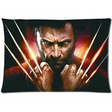 X Men Origins Wolverine Uncaged Edition Pillow Case Standard Size Cushion Covers Two Side-The Wolverine Powerful Cool (Xmen Bed Cover)