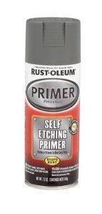 Rust-Oleum Etching Primer Gray 12 Oz Use On Metal, Aluminum And Fiberglass by Rust-Oleum Corp/Zinsser by Rust-Oleum