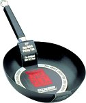 Joyce Chen 22-0020, Pro Chef Peking Pan with Excalibur Non-stick coating, 9.5 Inch