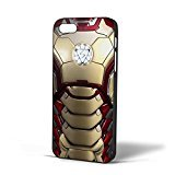 Iron Man Ironman Body Armor Mark 42 for iPhone Case (iPhone 6 Black)