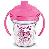 Tervis 1300745 Sesame Street Abby Cadabby Kindness is Magical Insulated Tumbler with Wrap Lid 6 oz Clear ()