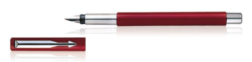 Parker Vector Red Fountain Pen Fine Nib, SM50136052