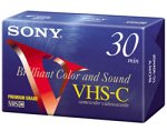 Sony VHS-C Camcorder Cassettes 30 Minute (5-Pack) (Discontinued by Manufacturer) by Sony