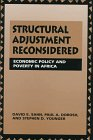 Structural Adjustment Reconsidered : Economic Policy and Poverty in Africa, Sahn, David E. and Dorosh, Paul A., 0521584515