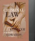Criminal Law, Klotter, John C. and Edwards, Terry D., 0870845276