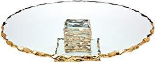 """Godinger Silver Art Harper 13"""" Cake Plate"""