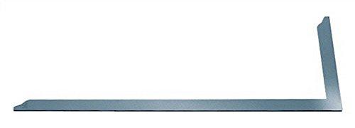 Zimmermannswinkel verz. 800x320mm o.Anreißöffnungen m.Skalierung