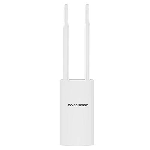 Outdoor WiFi Range Extender, 1200Mbps 2.4GHz/5.8GHz Dual Band Wi-Fi Signal Booster, AP Repeater/Wireless Access Point/Router Extend WiFi to Whole Home and Garden