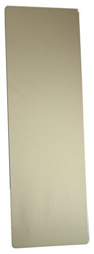 Mungai Mirrors - Miroir rectangulaire en acrylique - plastique Argenté 120 x 30cm.