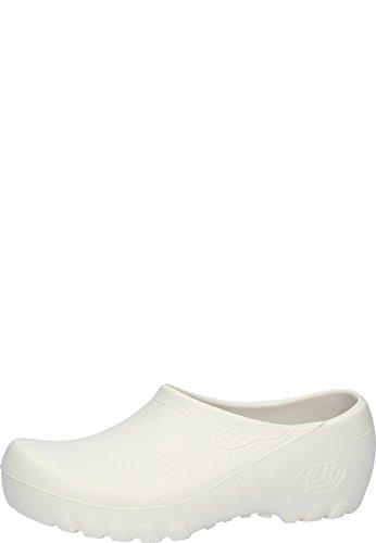 JOLLY fASHION gartenschuh blanc Blanc - Blanc