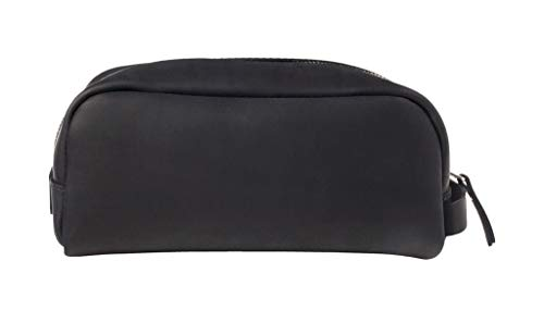 - SLATE COLLECTION Greenwood Dopp Kit, Toiletry Bag, Full-grain Leather (Midnight)