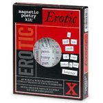 Magnetic Poetry Kit, Erotic Edition – 1 ea