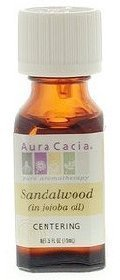 Price comparison product image FRAGRANCE NET Aura Cacia,  Sandalwood Precious Essential Oil,  0.5 Fl Oz