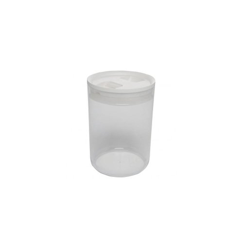 Click Clack Pantry Canister, 2.4-Quart, White Lid ()