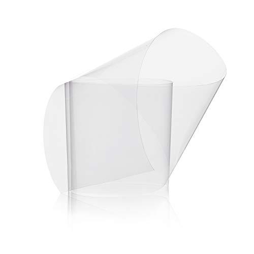 TIERRAFILM Rollo de Acetato Transparente para Repostería y Pasteleria 5cm x 5m 125 micrones - Moldes Reposteria: Amazon.es: Hogar