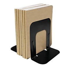 Office Depot 58% Recycled Steel Bookend, 7in, Black, OD7104