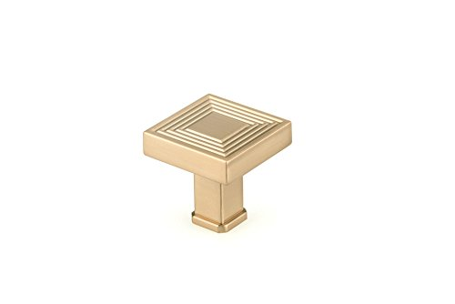 Richelieu Hardware - BP87883535CHBRZ - Transitional Metal Knob - 8788 - Champagne Bronze  Finish