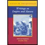 Writing on Empire & Slavery (01) by Tocqueville, Alexis de de [Paperback (2003)] Livre Pdf/ePub eBook
